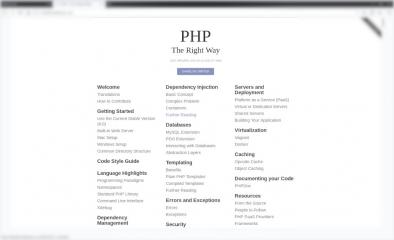 php-the-right-way