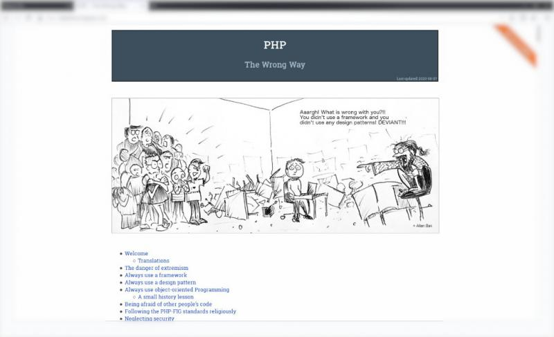 php-the-wrong-way